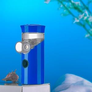 Image 3 - Health Handheld mini nebulizer medical atomizer asthma child silent inalador nebulizador Children Adult Automizer Dropshipping