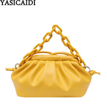 YASICAIDI Cloud PU Leather Crossbody Bags For Women 2020 Hobos Small Big Female