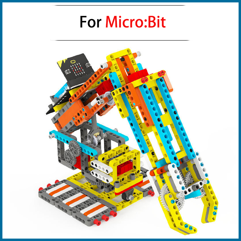 High Recommend Toy Games For Micro:Bit Programmable Building Block DIY Smart Robotic Arm Kit MBIT5