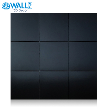 Self-adhesive 3D Metal Mosaic Wall Tiling Wallpaper Waterproof Anti-soft Bag Bedroom Floor Home Decor Wall Stickers Wall Panel