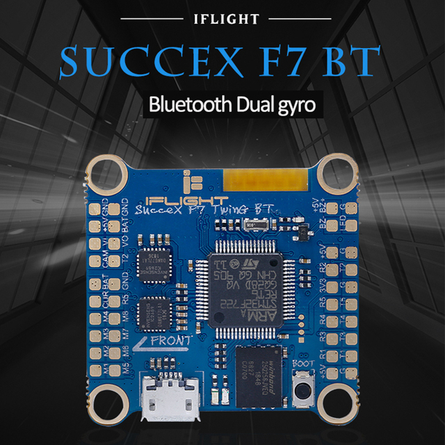 جديد ifly SucceX F7 TwinG بلوتوث BT وحدة تحكم في الطيران الدوران ICM20689 36x36 مللي متر ل RC FPV بها بنفسك FPV سباق ملحقات طائرة بدون طيار