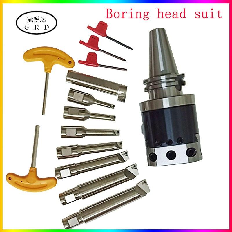 Juego de herramientas de perforación NBH2084 cabezal de perforación fina NBJ16 perforadora central BT30 NT30 BT40 NT40 R8 C20 juego de Herramientas de mandrinado MTA MTB
