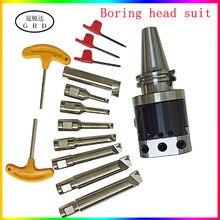 Noioso tool set NBH2084 noioso testa NBJ16 noioso centro noioso taglierina BT30 NT30 BT40 NT40 R8 C20 MTA MTB noioso tool set