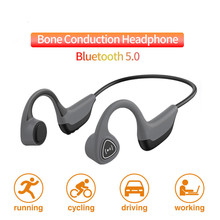 Bluetooth 5.0 Z8 Wireless Headphones Bone Conduction Earphone Outdoor Sport Headset with Microphone Handsfree Headsets edal bone conduction headphones earphone wired noise reduction earphones hands free outdoor sports with microphone smart phone