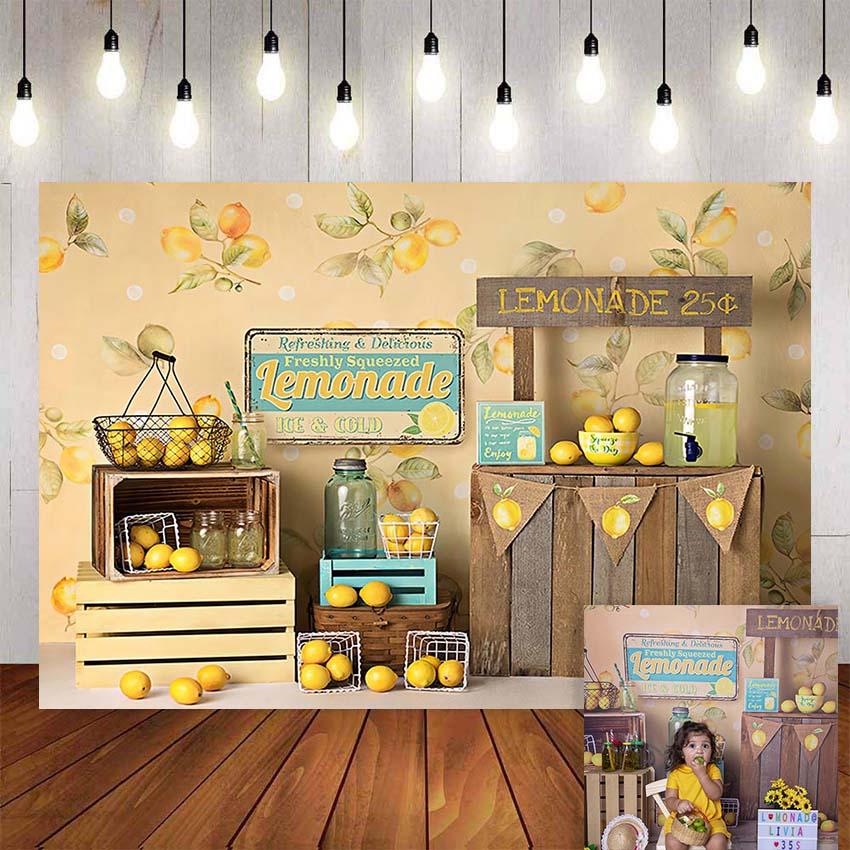 Mehofond лимон фрукты фотография фон день рождения Новорожденный ребенок фон Фотофон фотосессия Фотостудия