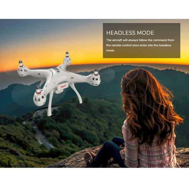 2019 NEW Syma X8 PRO 2.4G GPS Positioning FPV RC Drone with 720P HD Wifi Adjustable Camera Altitude Hold Headless Quadcopter 4