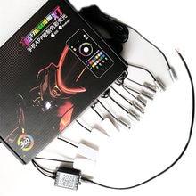 Универсальный светодиодный rgb светильник 12 в 1 10 м декоративные