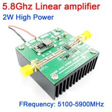 5.8Ghz 2W גבוהה כוח ליניארי מגבר 5100 5800MHZ wifi FPV התמונה RF מגבר מרחוק טווח אות כוח מגבר