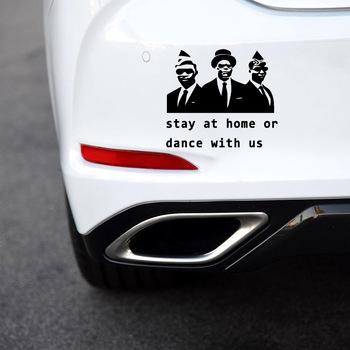 Cute people naklejki na samochody folia samochodowa winylowa Film samochody produkty akcesoria samochodowe tanie i dobre opinie Zderzak Pojazd logo Klej naklejki Words Inne Jest dostarczana M1012 Car Sticker Car Stickers Vinyl Sticker