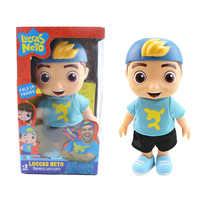 2019 nuevo 25cm muñeca Luccas Neto figura de acción juguetes de vinilo modelo muñeca con sonido regalo de Navidad para niños