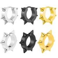 Super Niedrigen Preis 1Pc 6mm Nase Piercing Ring Ohrring Septum Clicker Piercing Körper Schmuck Piercing Nase Septum Piercings tragus J