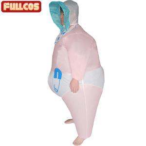 Image 4 - Надувной детский костюм для женщин и мужчин, надувной наряд для взрослых, вечевечерние НКИ, ночи, Хэллоуина, карнавала, косплея, надувной наряд для младенцев
