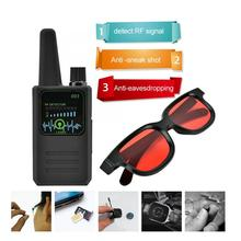 M003 Multi function Anti Espionage Detector Anti tracking Camera Wireless Signal Detector with Glasses