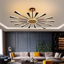 Современный светодиодный потолочная люстра светильники Освещение