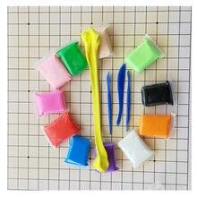Szlam DIY bezpieczne i nietoksyczne plastyczne tworzywo Fimo glina Playdough Air Clay polimerowa plastelina modelarska