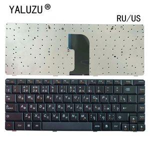 Image 1 - Clavier RU/US pour ordinateur portable LENOVO, noir, nouvelle version anglaise, pour G460 G460A G460E G460AL G460EX G465