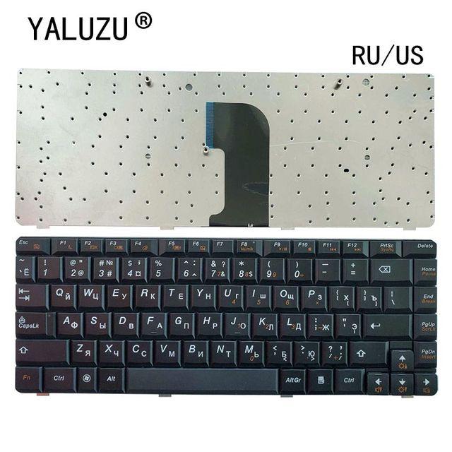 Clavier RU/US pour ordinateur portable LENOVO, noir, nouvelle version anglaise, pour G460 G460A G460E G460AL G460EX G465
