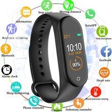 M4 Smart Watch Men Wristband Fitness Bracelet IP67 Waterproof Sport Blood Pressure Activity Tracker Reloj Inteligent Saati
