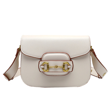 Shoulder-Bags Vintage Designer Small Crossbody Women New-Fashion Luxury Saddle for Ladies