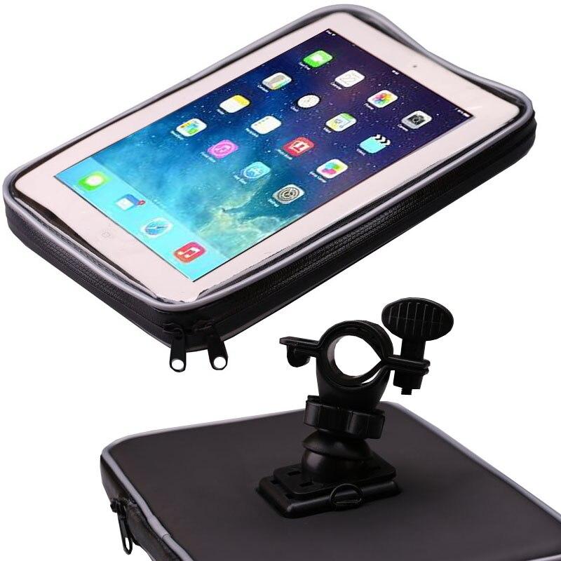 Bicycle Motor Bike Motorcycle Handle Bar Tablet Holder Waterproof Case Bag  For IPad Mini 4 3 2 For Samsung Galaxy Tab 4 3 2 7''