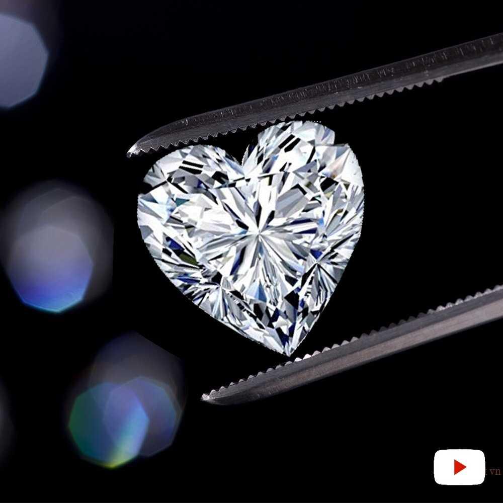 ไม่ปลอมหัวใจตัด S925 แหวนเงิน SONA เพชร Solitaire แหวน Fine ที่ไม่ซ้ำกันสไตล์รักหมั้น
