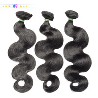 VR Star Brazilian Body Wave Hair Bundle Natural Black Color 100% Human Hair weaving 1/3/4 Piece 8 30inch Hair Extension