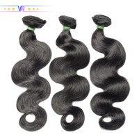 VR Star Brazilian Body Wave Hair Bundle Natural Black Color 100% Human Hair weaving 1/3/4 Piece 8 30inch Hair Extension