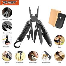 Multitool Pliers Folding Knife EDC Pocket Camping Survival Military Knife Multifunctional Tool Electrician Cable Cutter Pliers