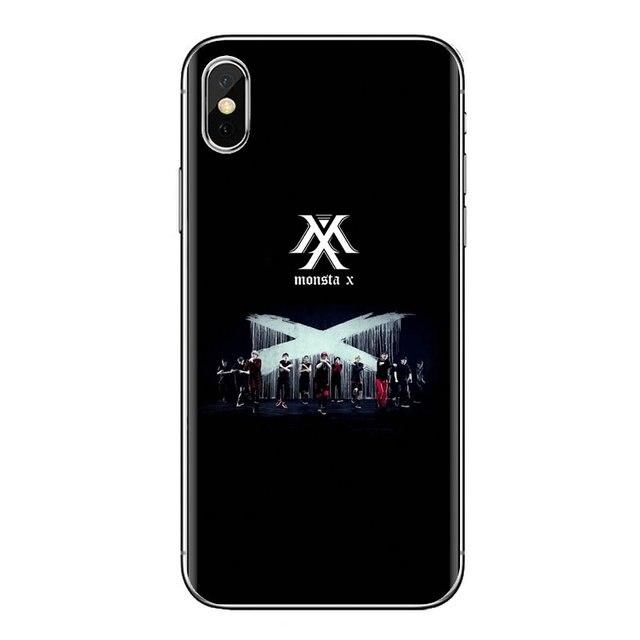Fundas blandas fundas KPOP K.A.R.D MONSTA X NCT 127 Para Xiaomi Mi3 Samsung A10 A30 A40 A50 A60 A70 Galaxy s2 nota 2 gran Core Prime