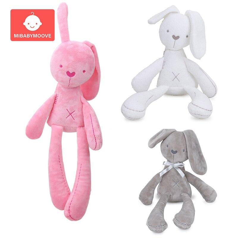 Cute Rabbit Doll Baby Soft Plush Toys For Children Bunny Sleeping Mate Stuffed &Plush Animal Baby Toys For Infants Kids Girl