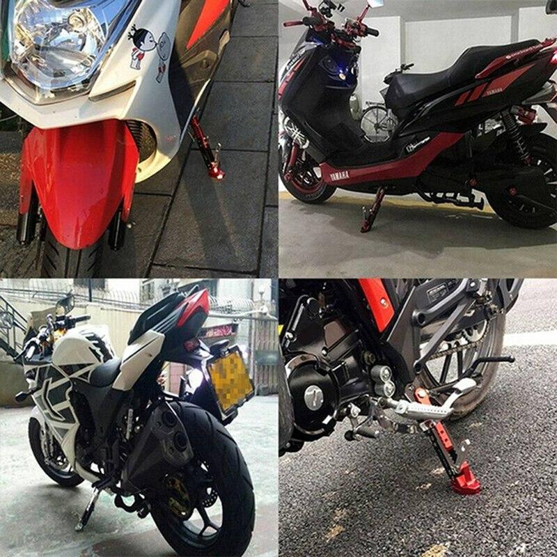 1 шт регулируемая подножка для мотоцикла боковая опора парковки