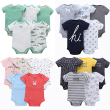 цена на Newborn 6-24 Months Hot Cartoon Infant Baby Boy Girl Bodysuit Jumpsuit Clothes Outfits Size Baby Boy Clothes Baby Girl Clothes