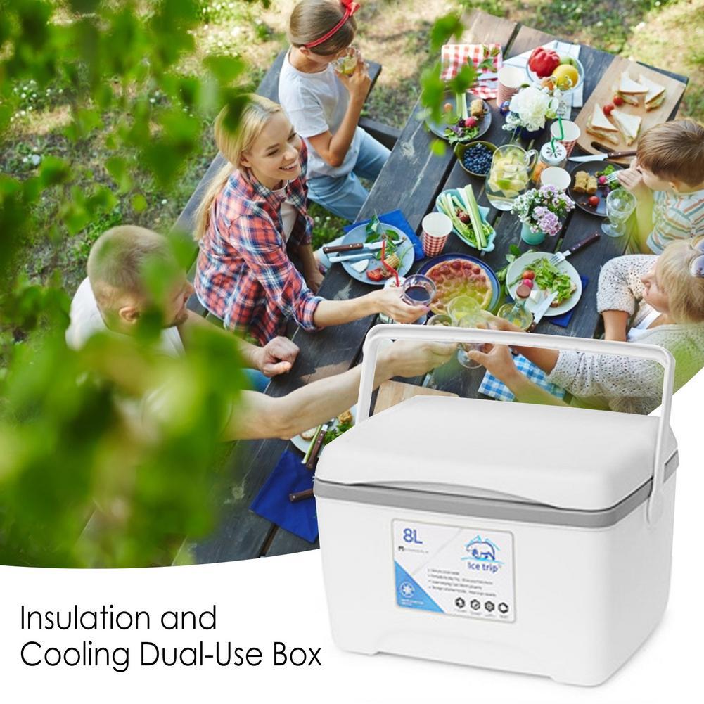 8L Home/Car Refrigerator Control Automoble Fridge Refrigerators Freezer Cooling Box Frigobar Food Storage Fridge Compressor