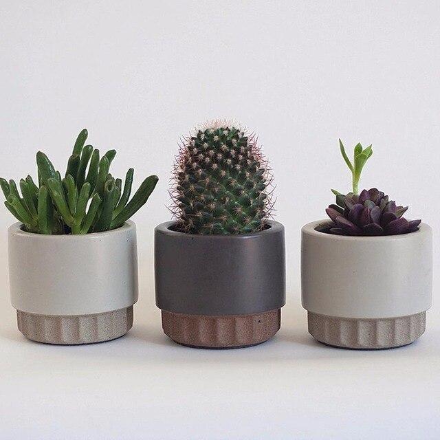 Cement flowerpot mold, flowerpot silicone mold Cement concrete mold