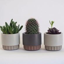 Moule pour pot de fleurs en ciment, moule en silicone pour pot de fleurs, moule à béton