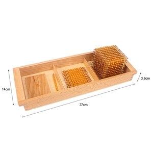 Image 5 - Montessori Matematik Eğitici Oyuncaklar Altın Boncuk Malzeme Sembolleri Tepsiler Çocuk 5 Yıl Öğretim Oyuncaklar Öğrenciler Öğrenme Aritmetik