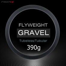 Disco de rueda de ciclocross de 370g 700c de carbono, 35mm y 45mm de profundidad, llantas sin cámara, ultralivianas, mate, brillante