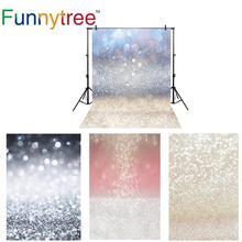 Funnytree tło zdjęcie studio noworodka bokeh marzycielski błyszczący brokat tło photocall fotografia dzieci photophone