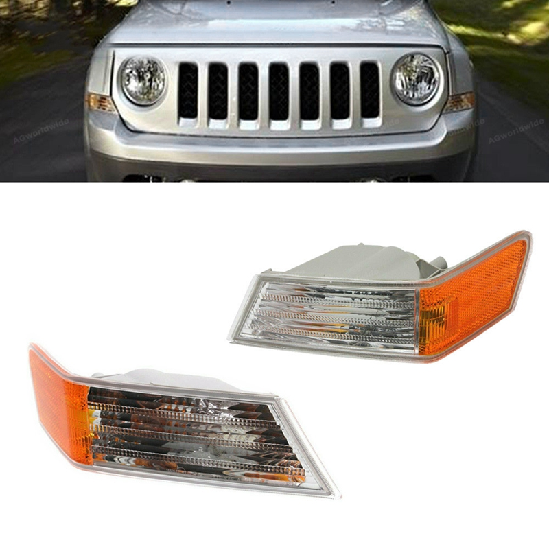 For Jeep Patriot 2007-2016 Left Driver Side Or Right Side Or Pair Corner Light No Bulb
