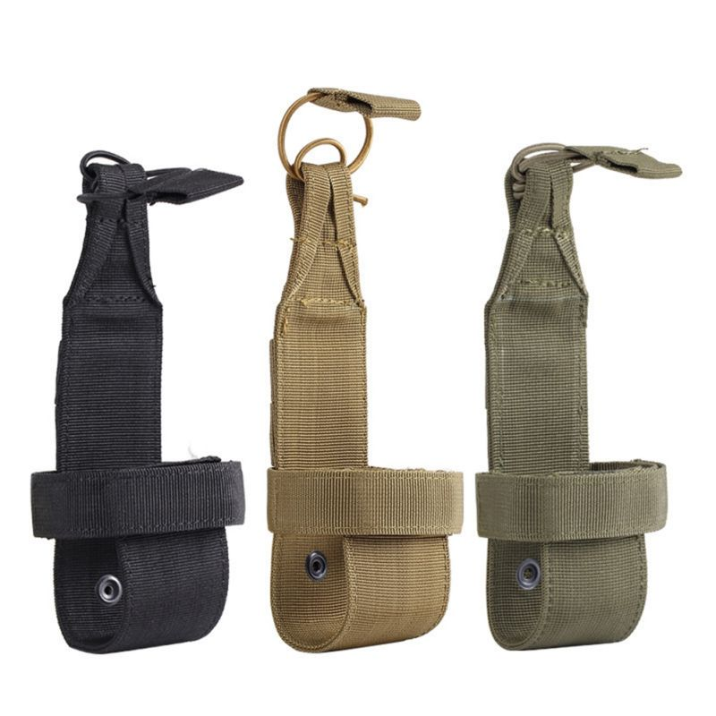 Water Bottle Holder Universal Adjustable Tactical Outdoor Sports Bottles Cover Carrier Belt Pouch Travel Climbing Bags