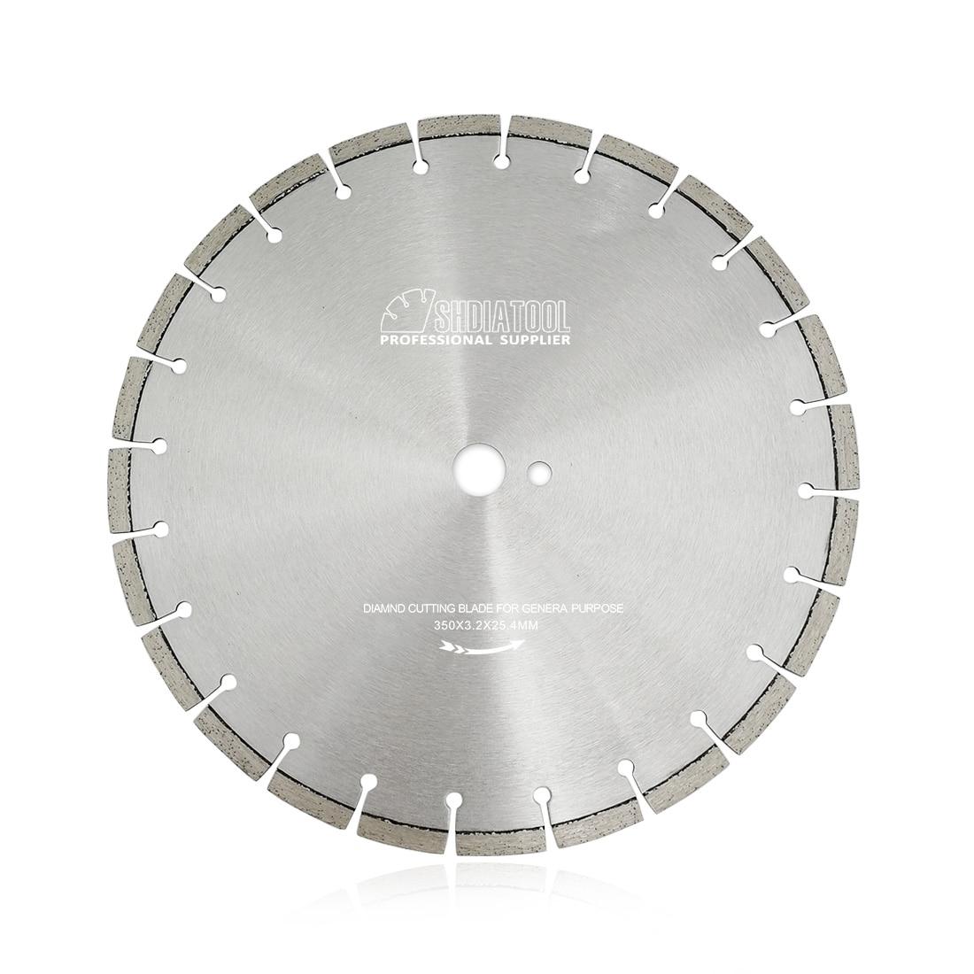 SHDIATOOL 1pc 350mm Laser Welded Professional Diamond Saw Blades 14