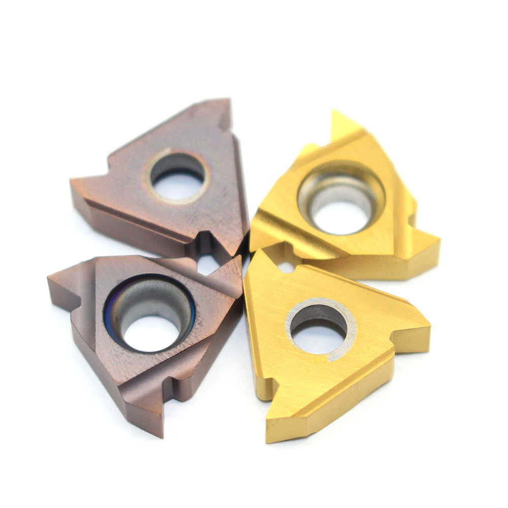 MMT 16IR AG60 US735 VP15TF UE6020 Filo Utensili di Tornitura Inserti In Metallo Duro Utensile Da Taglio Utensili CNC Tornio Utensili da Taglio 16 IR AG60 amw