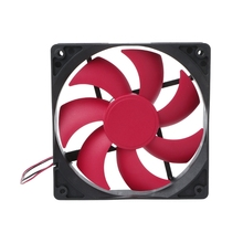 120×120×25mm DC 12V 0.16A 2 Pin 7-Blade Blower PC Case Cooling Fan Cooler sunon gb1205phvx 8ay dc 12v 2 2w 2 wire 2 pin connector server blower cooling fan