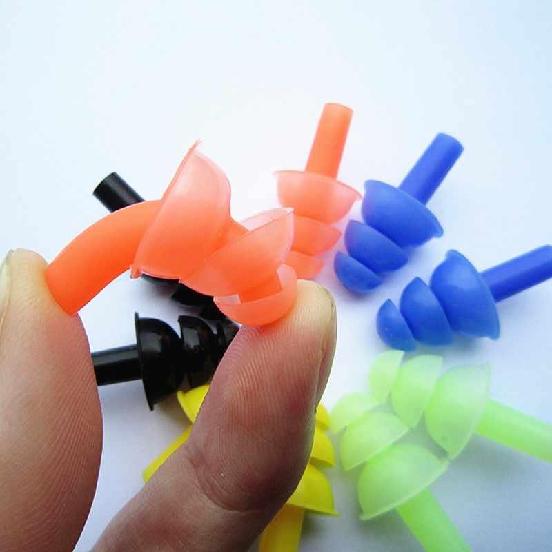1 セット新防水シリコーン水泳耳栓と鼻クリップ大人のためのスイマー子供ダイビング水泳アクセサリーソフト