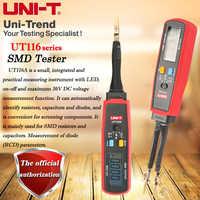 UNI-T UT116A SMD Tester; Resistor / Capacitor / Diode (RCD) Parameter Meter / SMD Digital Multimeter UT116C