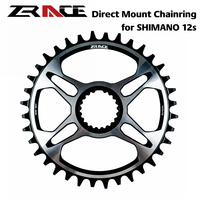 ZRACE 12 Speed Chainring FC M9100 FC M8100 FC M7100 FC MT900 For Shimano Direct Mount Crank 32T/34T/36T 7075AL Vickers hardness