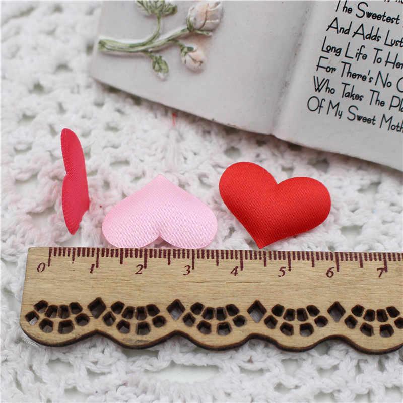 100 шт/партия романтическая губка атласная ткань лепестки в форме сердца свадебные конфетти настольные лепестки в форме сердца Свадебные украшения «сделай сам»