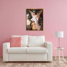 5D DIY полная дрель алмазная живопись ангел-хранитель бабочка вышивка крестиком набор для рукоделия домашний декор сопротивление окислению 40*30 см