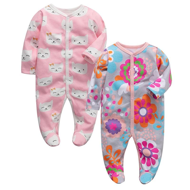 lot de 2 Care Pyjama B/éb/é fille