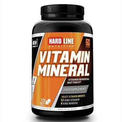 Muscle Supplement Vitamin Mineral 120 Tablets Multivitamin Amino Acids The Human Body Nutrition In High Purity In The Body Extract